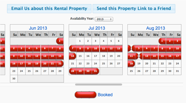 Brand New! Availability Calendars Make Renting on the Lower Cape a Breeze