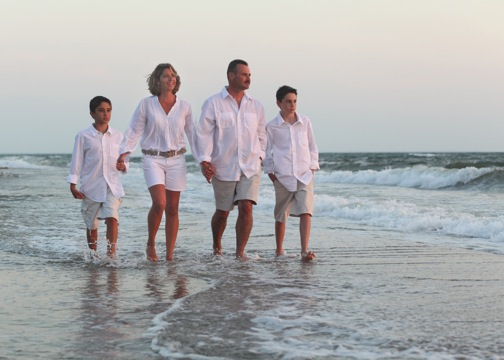 Picture Perfect! Schedule a professional family portrait on your summer vacation
